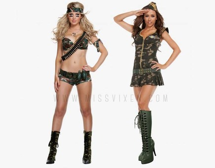Military Costumes